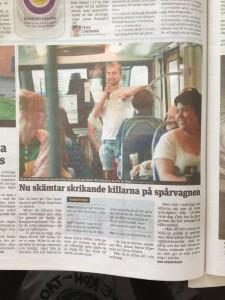 Spårvagnsstandup i Göteborg